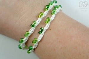 Bracelet Option 3 | Forever Summer Necklace Free Pattern @OombawkaDesign