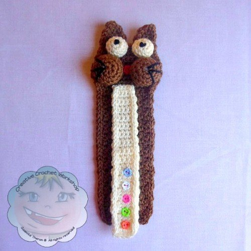 2 Guest Post | Creative Crochet Workshop | My Cat Bookmark @OombawkaDesign