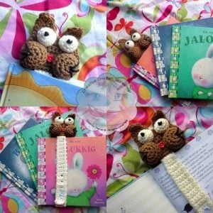 4 Guest Post | Creative Crochet Workshop | My Cat Bookmark @OombawkaDesign