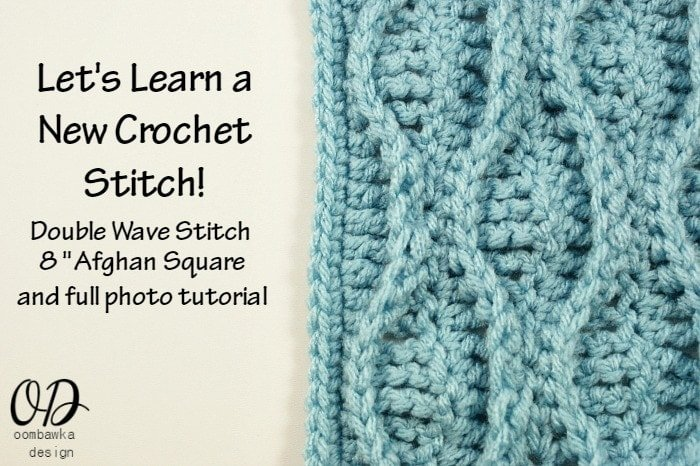 Double Wave Stitch @OombawkaDesign