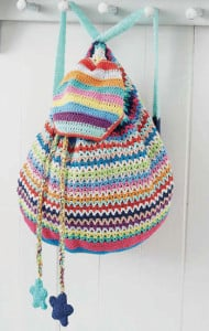 Star Backpack | Boho Crochet Review @OombawkaDesign