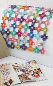 Flower Power Runner | Boho Crochet Review @OombawkaDesign