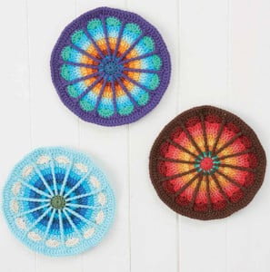 Spoke Mandala | Boho Crochet Review @OombawkaDesign