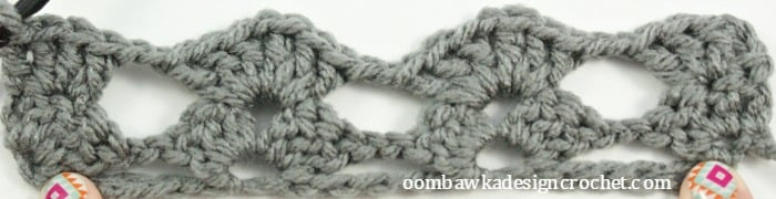 Globe Stitch R2 Let's Learn a New Crochet Stitch @OombawkaDesign