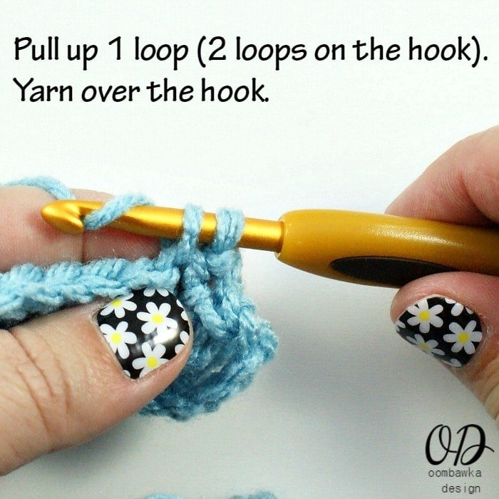 2 Stitch Tutorials: sc, hdc and dc @OombawkaDesign