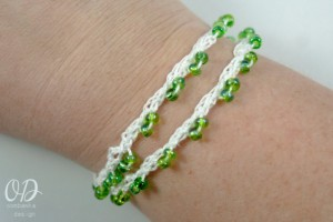 Bracelet Option 1 | Forever Summer Necklace Free Pattern @OombawkaDesign