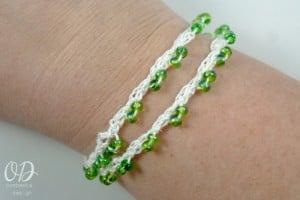 Bracelet Option 1 | Forever Summer Necklace Free Pattern @OombawkaDesign