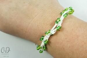 Bracelet Option 2 | Forever Summer Necklace Free Pattern @OombawkaDesign