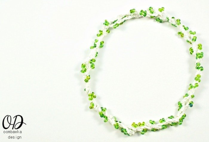 Necklace 3 | Forever Summer Necklace Free Pattern @OombawkaDesign