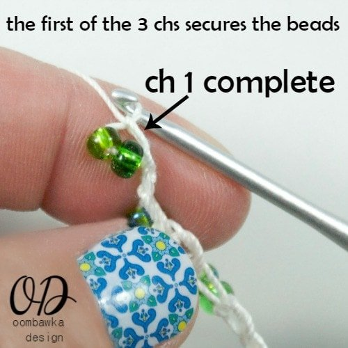 Beads Secure | Forever Summer Necklace Free Pattern @OombawkaDesign