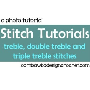 Stitch Tutorials: tr, dtr and trtr @OombawkaDesign