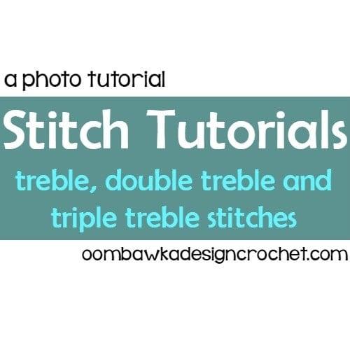 Stitch Tutorials: tr, dtr and trtr @OombawkaDesign