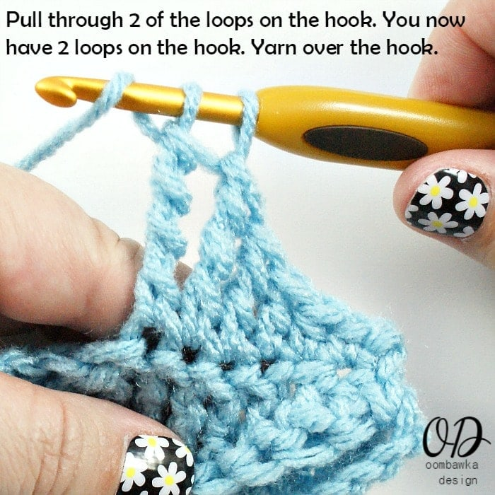 TRTR 6 Stitch Tutorials: tr, dtr and trtr @OombawkaDesign