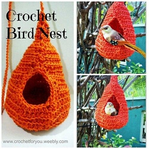 Erangi's Crochet Bird Nest