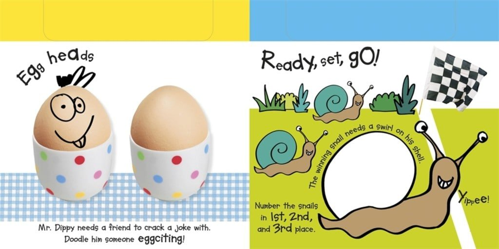 Eggs | Doodle Fun! Review @OombawkaDesign
