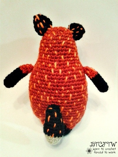 Back | Foxy | Guest Post | Born to Crochet Forced to Work | @OombawkaDesign