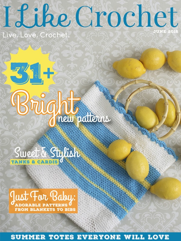 June Issue I Like Crochet Review | @OombawkaDesign