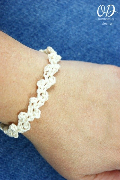 Bridal White | Lacy Bridal Party Bracelet @OombawkaDesign