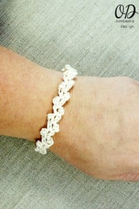 Lacy Bridal Party Bracelet Pattern