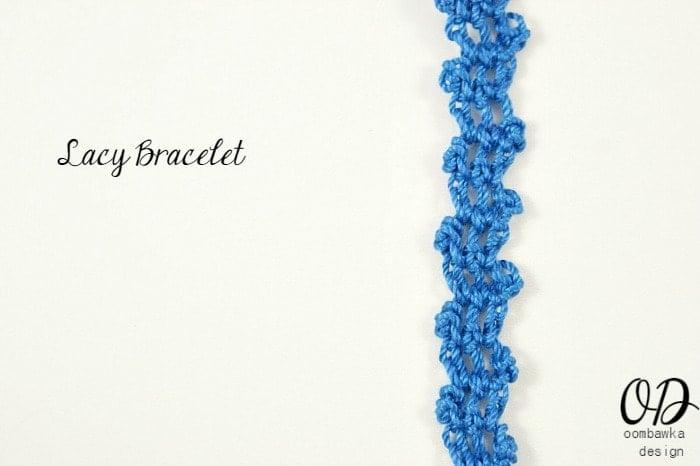 Lacy Bracelet Cover | Lacy Bracelet Free Pattern | @OombawkaDesign