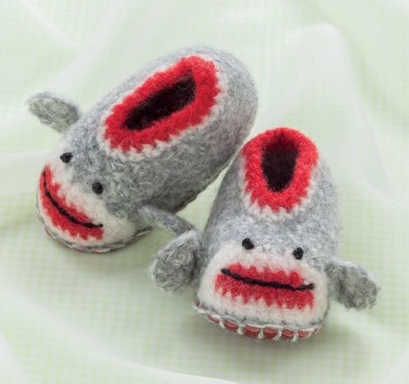 Sock Monkey | Cozy Toes for Baby Review @OombawkaDesign