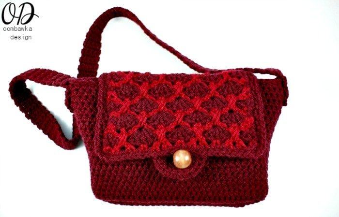 Free Pattern Simple Crochet Purse @OombawkaDesign