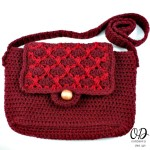 Facebook Image Simple Crochet Purse @OombawkaDesign