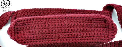 Simple Crochet Purse Bottom @OombawkaDesign