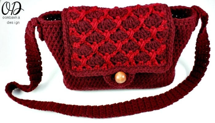 Simple Crochet Purse Pattern @OombawkaDesign