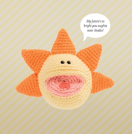 Sun | Happy-Gurumi | Book Review @OombawkaDesign