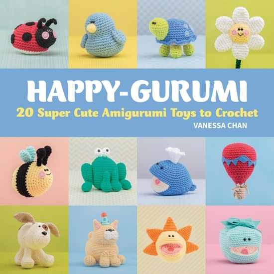 Happy-Gurumi | Book Review @OombawkaDesign
