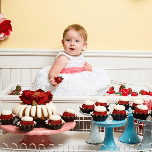 Sweet as Strawberry Baby Booties Free Pattern | Furls @OombawkaDesign