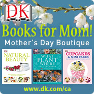 DK Books for Mom Mothers Day Boutique @OombawkaDesign