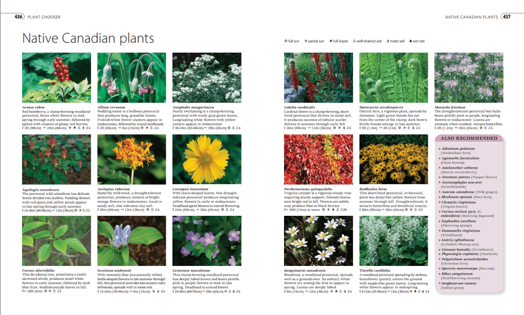 Plant Chooser - Canadian Gardener's Guide Book Review @OombawkaDesign