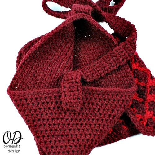 Simple Crochet Purse Strap @OombawkaDesign