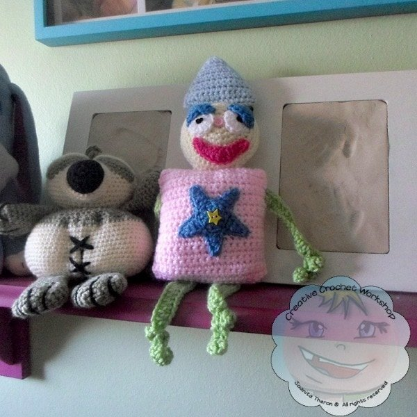 My Shape Buddy Clown | Guest Contributor Post | Creative Crochet Workshop @Oombawka Design