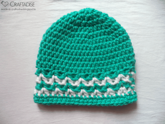 1 Tile Green Valley Hat | Guest Contributor Post | Salma Sheriff @OombawkaDesign