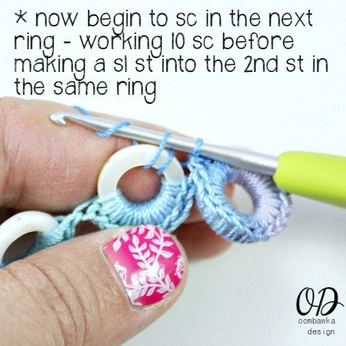 Step 14 | Infinite Hope Set | Free Pattern @OombawkaDesign