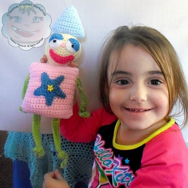 My Shape Buddy Clown | Guest Post Contributor | Creative Crochet Workshop @OombawkaDesign