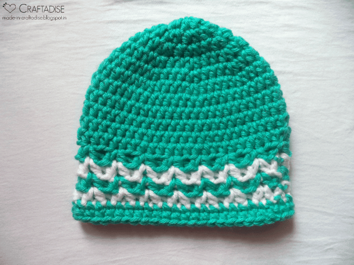 3 Tile Green Valley Hat | Guest Contributor Post | Salma Sheriff @OombawkaDesign