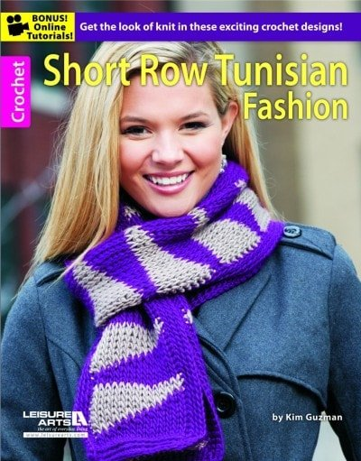 Tunisian Short Rows | Crochet Book Review @OombawkaDesign