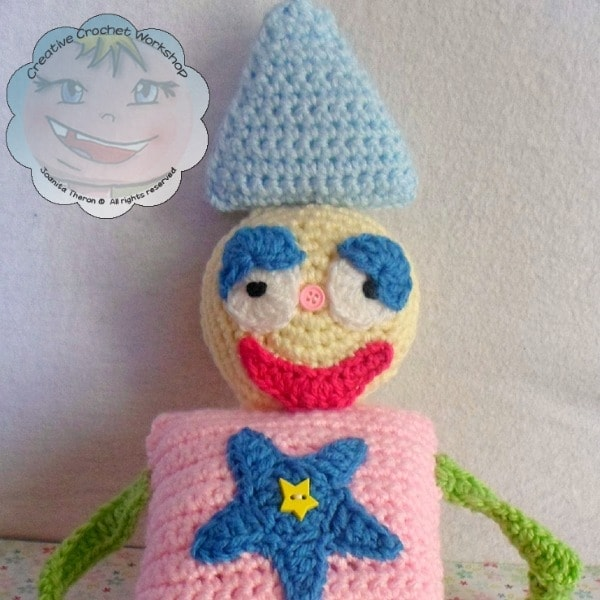6 My Shape Buddy Clown | Guest Post Contributor | Creative Crochet Workshop @OombawkaDesign