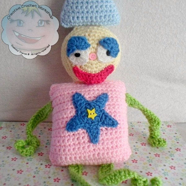 7 My Shape Buddy Clown | Guest Post Contributor | Creative Crochet Workshop @OombawkaDesign