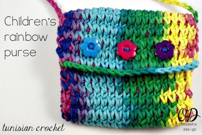 Free Crochet Purse Patterns For Kids : Cover Childrens Crochet Purse Free Tunisian Crochet Pattern ...