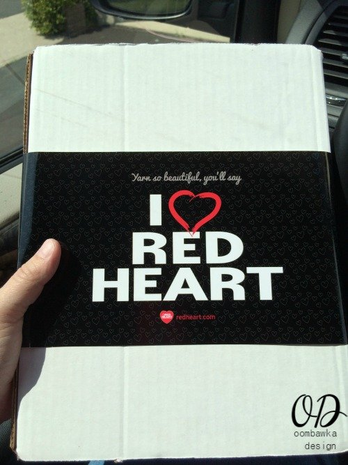 Red Heart Surprise Package