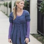 Puff Sleeve Cardigan | Tunisian Crochet Book Review @OombawkaDesign