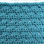 Simplest Shell Stitch | LLANCS | @OombawkaDesign