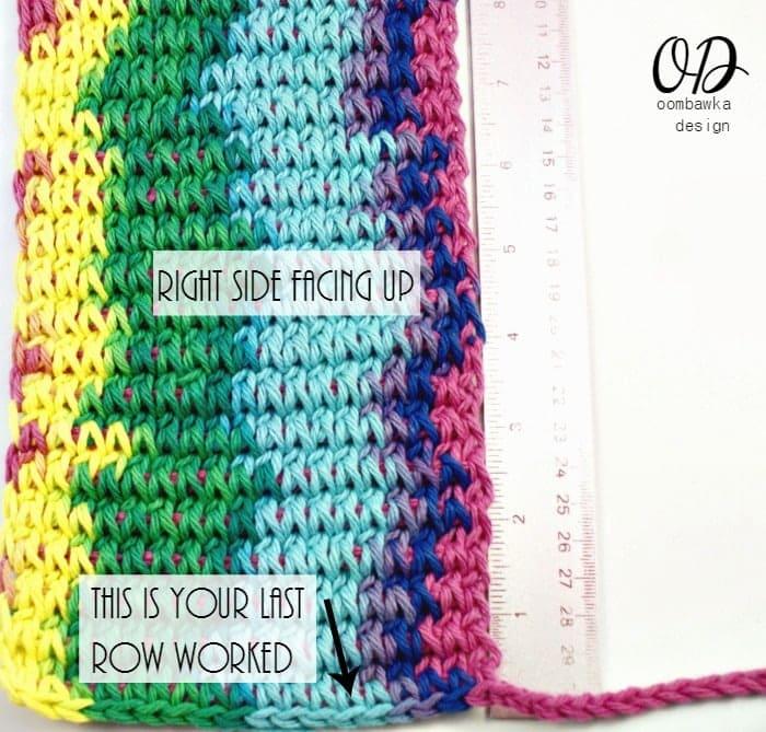1   Children's Crochet Purse   Free Tunisian Crochet Pattern @OombawkaDesign