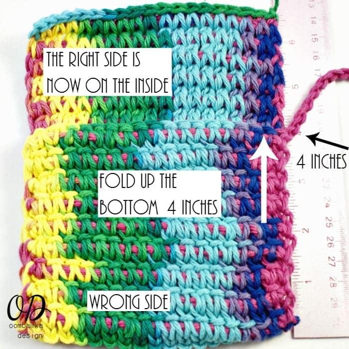 2 | Children's Crochet Purse | Free Tunisian Crochet Pattern @OombawkaDesign