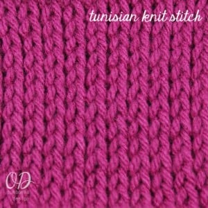 Tunisian Crochet Book Review @OombawkaDesign